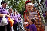 Festa Major de Sant Julià de Vilatorta 2012: trobada gegantera