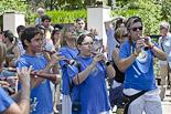 Festa Major de Sant Julià de Vilatorta 2013: hissada de l'estelada