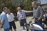 Festa Major de Sant Julià de Vilatorta 2013: trobada de motos antigues