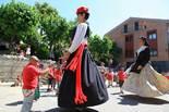 Festa Major de St. Quirze: cercavila de gegants