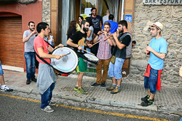 Festa Major de St. Quirze: els reis mags seguint l'estrella