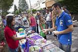 Festa Major de Seva 2012: mercat del trasto