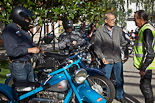Festa Major de Sant Julià de Vilatorta 2012: trobada de motos antigues