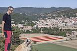 La senyera més gran del món a Santa Eulàlia de Riuprimer
