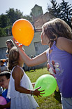 Festa Major de Tavèrnoles 2013: xocolatada i jocs de cucanya