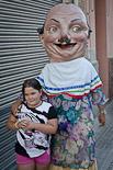 Festa Major de Tona: desfilada de gegants