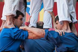 Festa Major de Vic 2014: Trobada Castellera