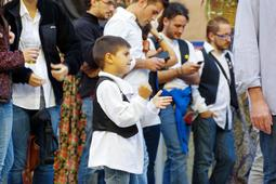 Festes del carrer de la Riera de Vic: Trobada de gegants