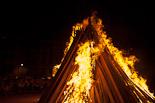 La Flama del Canigó a Vic, 2012