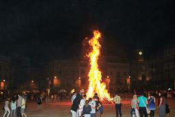 La Flama del Canigó a Vic, 2014