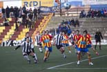 Futbol: Manlleu 3 - Amposta 1