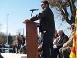 Seva inaugura el bust en homenatge a Pep Bassas