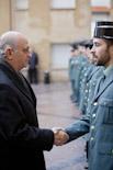 Visita de Fernandez Diaz a la caserna de la Guàrdia Civil de Vic