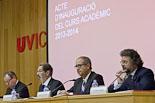Inauguració del curs 2013-14 de la Universitat de Vic