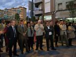 Inauguració de la remodelació del barri del Remei de Vic