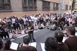 Inauguració de la remolelació del carrer Manlleu de Vic