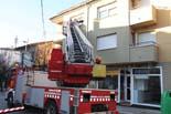 Incendi en un pis de Roda de Ter