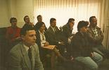 Josep Anglada, una vida accidentada, en imatges 1991. Judici per les denúncies creuades amb Albert Sans. Foto: Arxiu La Marxa.
