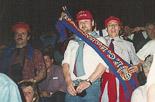 Josep Anglada, una vida accidentada, en imatges 20/05/1992. A la final del Barça de la Copa d'Europa a Wembley. (Foto: Arxiu La Marxa).