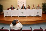Josep Anglada, una vida accidentada, en imatges 26/09/2006. Presentació dels candidats de PxC a les eleccions municipals. Foto: Adrià Costa.