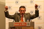 Josep Anglada, una vida accidentada, en imatges 22/05/2007. Campanya de les eleccions municipals. Foto: Adrià Costa.