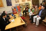 Josep Anglada, una vida accidentada, en imatges 07/03/2008. A la presentació del llibre de Miquel Erra i Joan Serra \