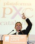 Josep Anglada, una vida accidentada, en imatges 23/11/2008. 4rt Congrés nacional de PxC. Foto: Adrià Costa.