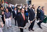 Josep Anglada, una vida accidentada, en imatges 14/06/2009. Processó de Corpus a Vic. Foto: Adrià Costa