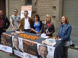 Josep Anglada, una vida accidentada, en imatges 07/05/2011. Campanya electoral municipal a Vic. Foto: MM.