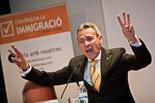 Josep Anglada, una vida accidentada, en imatges 17/05/2011. Acte central a Vic de PxC a les eleccions municipals. Foto: Adrià Costa.