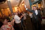 Josep Anglada, una vida accidentada, en imatges 22/05/2011. Nit electoral. Rebut pels seus partidaris a la Llotja del Sucre, a Vic. Foto: Adrià Costa.