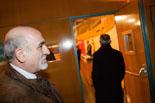 Josep Anglada, una vida accidentada, en imatges 18/12/2013. Anglada i Sánchez coincideixen al ple del Consell Comarcal després que els regidors de Manlleu abandonessin PxC. Foto: Adrià Costa
