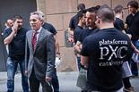Josep Anglada, una vida accidentada, en imatges 01/07/2013. Incidents al ple municipal de Vic entre antifeixistes i seguidors de la PxC. Foto: Adrià Costa.