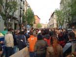 Manifestació contra Anglada i PxC a Vic