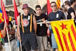 Manifestació per la cohesió social, aturem el racisme a Vic