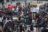Manifestació contra la PxC a Vic