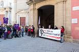 Manifestació de la Plataforma d'Osona pel Dret a l'Avortament a Vic