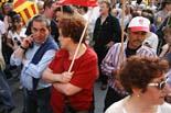 Manifestació contra la retallada a la sanitat i els serveis públics
