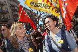 Manifestació de la vaga general a Vic