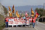 Marxa contra l'atur i pel treball digne