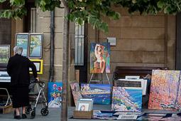 Mercat d'arts a Manlleu