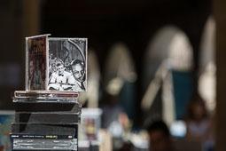 MMVV 2014: Fira del Disc i pavelló comercial Fira del disc a la plaça Major de Vic.