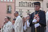Missa i processó de Corpus a Vic, 2012