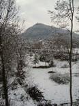 La nevada vista pels lectors Vic. Foto: Miquel Cañellas