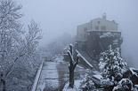 Enfarinada del 6 d'abril a Osona La nevada, a Bellmunt. Foto: Josep M. Costa