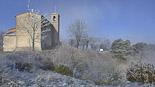 Enfarinada del 6 d'abril a Osona La nevada, a Sant Agustí de Lluçanès. Foto: Josep Martínez Castro