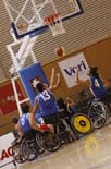 Partit d'exhibició de la Selecció Catalana de Bàsquet de minusvàlids
