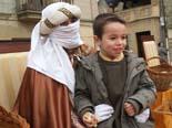 El patge reial recull cartes a Folgueroles