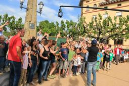 El programa «Divendres» de TV3 s'instal·la a Sant Boi de Lluçanès