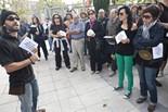 Protesta contra les retallades a la UVic